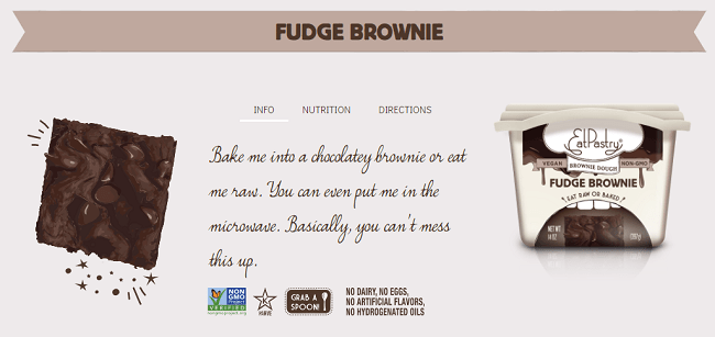 Edible Brownie Dough