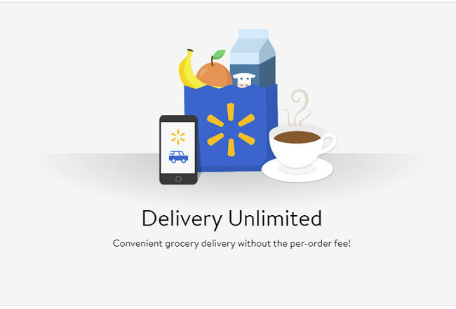 Walmart Delivery Unlimited