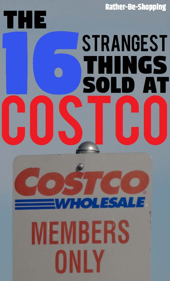 The 16 Strangest Things You Can Buy at Costco (Who Knew?)