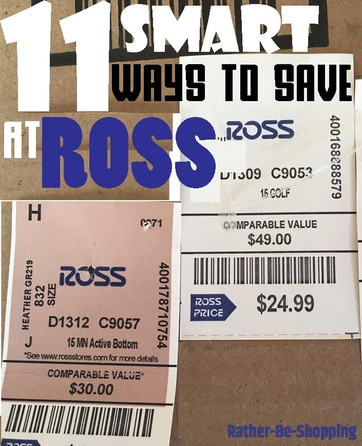 11 Pro Money-Saving Tips to Save BIG at Ross Dress For Less