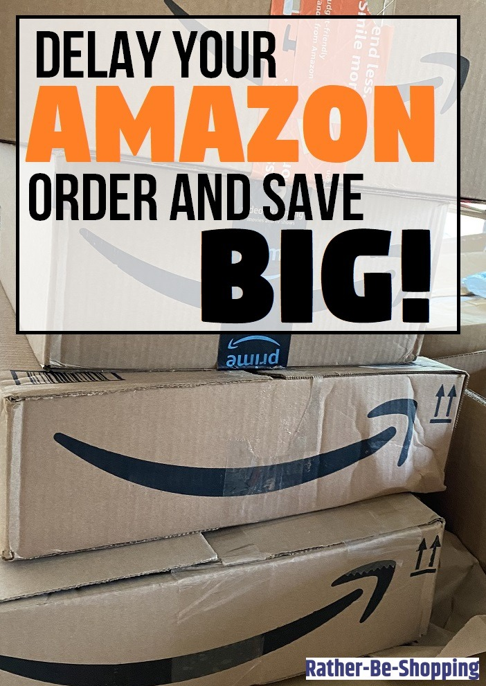 Here's Why Delaying Your Amazon Order Can Earn You Significant Money
