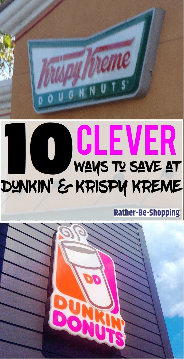 Like Free Doughnuts? 10 Clever Ways to Save at Dunkin' and Krispy Kreme