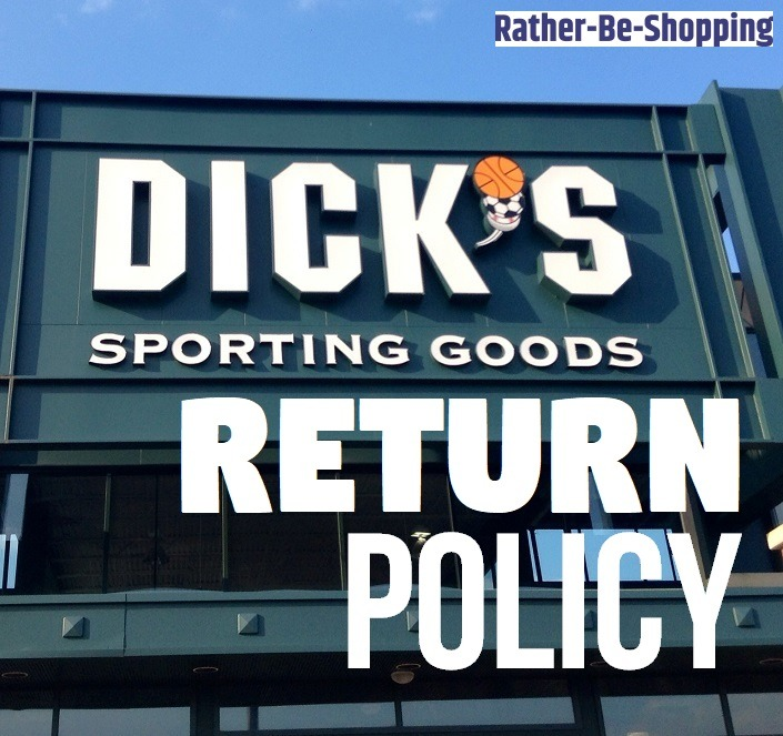 Dick's Sporting Goods Return Policy: Time to Cut Through the Crap