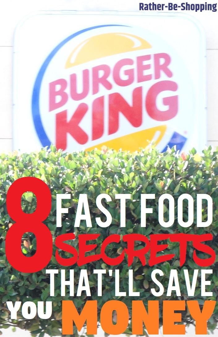 8 Fast Food Menu Secrets That'll Help You Save Some Money